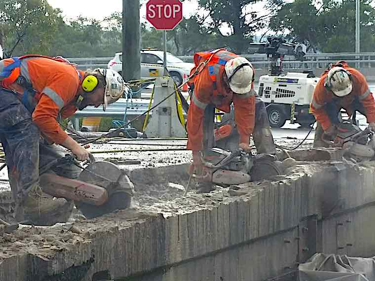Mastercut Concrete Cutting Team